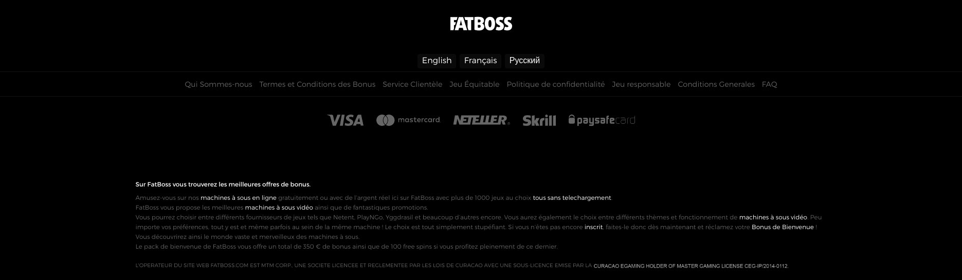 Casino Fatboss